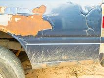 Автомобиль краски шелушения Стоковые Фотографии RF