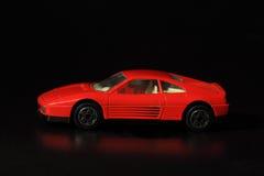 Автомобиль красного цвета игрушки Стоковые Изображения RF