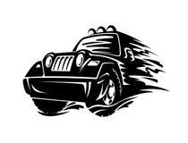 Автомобиль кроссовера Стоковые Фото