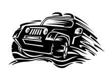 Автомобиль кроссовера Стоковые Изображения