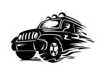 Автомобиль кроссовера Стоковая Фотография