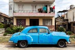 автомобиль Куба старая Стоковое Изображение
