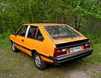 Автомобиль классики польский Стоковая Фотография
