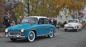 Автомобиль классики польский Стоковые Изображения