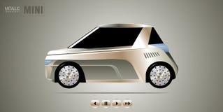 автомобиль малый Стоковая Фотография