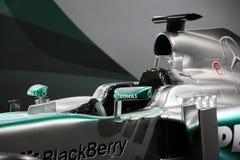 Автомобиль Мерседес F1 W04 формулы 1 Стоковые Изображения