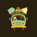 Автомобиль мороженого Стоковые Фото
