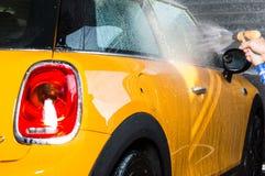 Автомобиль моя с мылом Стоковые Фото