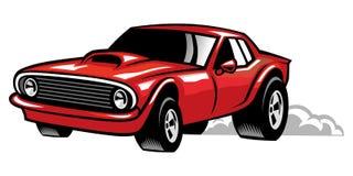 Автомобиль мышцы иллюстрация штока