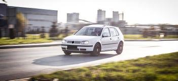 Автомобиль на дороге Стоковое Изображение RF