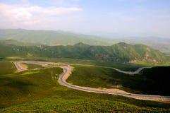 Автомобиль дороги горы Стоковое Изображение RF