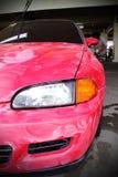 Автомобиль отполированный и покрытие воска Стоковые Фото