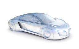 Автомобиль от будущего Стоковое фото RF