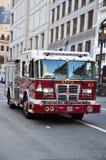 Автомобиль отделения пожарной охраны Стоковые Фотографии RF