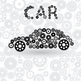 Автомобиль от шестерней Стоковая Фотография RF