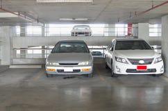 Автомобиль парка Стоковая Фотография