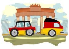 Автомобиль перемещения Стоковое Фото