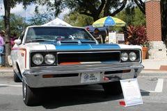 Автомобиль 1970 повстанца AMC на выставке автомобиля Стоковая Фотография