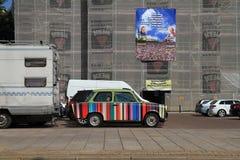 автомобиль покрасил Стоковая Фотография RF
