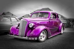 Автомобиль подгонянный годом сбора винограда Стоковые Изображения