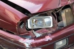 автомобиль разбил стоковое фото rf