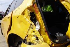автомобиль разбил Стоковые Фото