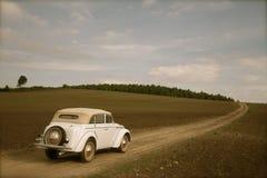 автомобиль разделяет ретро русского стоковое изображение