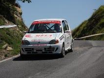 Автомобиль ралли Фиат 600 Стоковая Фотография RF