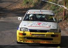 Автомобиль ралли Ford Escort Cosworth Стоковые Фото