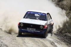 Автомобиль ралли Mkii Ford Escort стоковое изображение rf