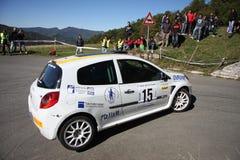 Автомобиль ралли Renault Clio Стоковое Изображение