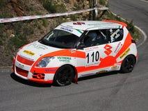 Автомобиль ралли Suzuki Swit Стоковая Фотография RF