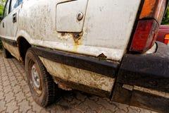 автомобиль ржавый Стоковая Фотография RF