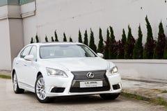 Автомобиль салона Lexus LS 460L Стоковые Фото