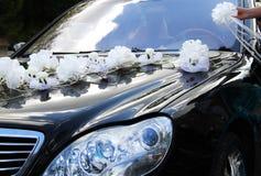 Автомобиль свадьбы Стоковое фото RF