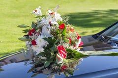 Автомобиль свадьбы Стоковое Фото