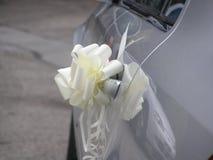 Автомобиль свадьбы Стоковая Фотография