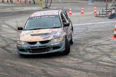 Автомобиль смещения спортивных состязаний Стоковое фото RF