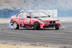 Автомобиль смещения BMW Стоковые Изображения RF