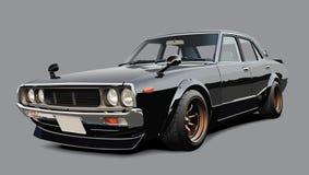 Классицистический японский автомобиль спортов Стоковая Фотография RF