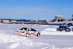 Автомобиль спорт, гонка Стоковая Фотография