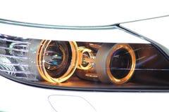 Автомобиль спорт фары Стоковое Изображение RF