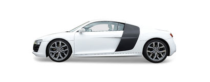 Автомобиль спорт Audi R8 Стоковое Изображение RF
