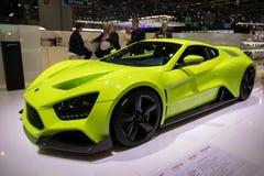 Автомобиль спорт Zenvo TS1 GT Стоковое Изображение