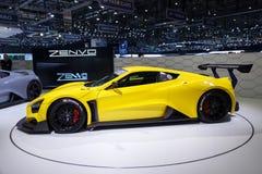 Автомобиль спорт Zenvo TSR Стоковое фото RF