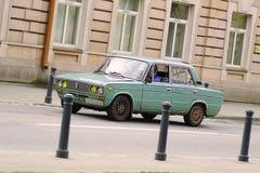 Автомобиль старой школы Стоковые Фотографии RF
