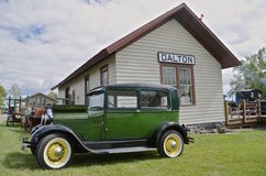 Автомобиль старые 1928 модельный t Форд Стоковое фото RF
