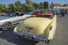 Автомобиль с откидным верхом 1949 двери Buick 8 супер Dynaflow 2 Стоковая Фотография RF