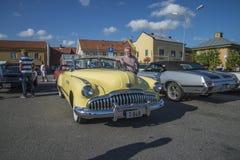Автомобиль с откидным верхом 1949 двери Buick 8 супер Dynaflow 2 Стоковые Изображения
