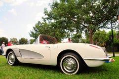 Автомобиль с откидным верхом 1958 Корвета Стоковое фото RF